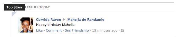 Facebook Top Story
