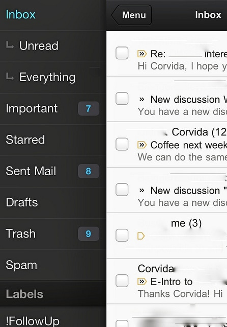 Gmail for iPhone and iPad