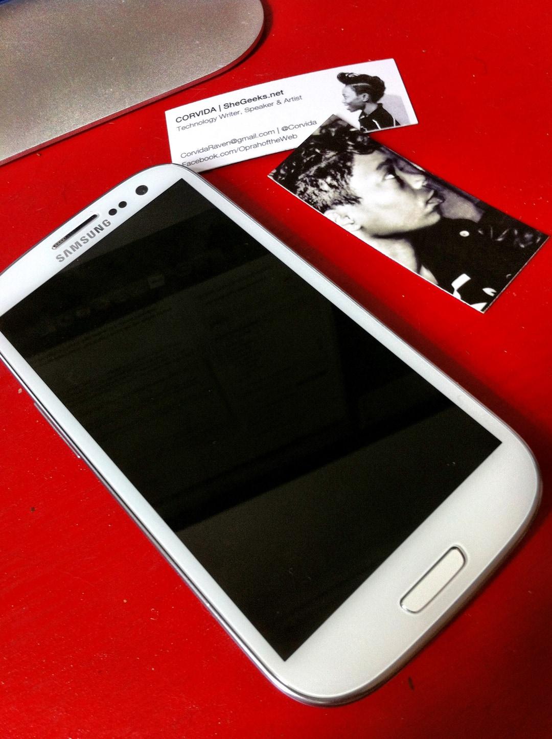 Samsung Galaxy S3 - SheGeeks Review