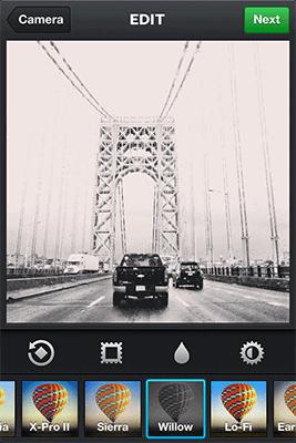 Instagram Filter Willow