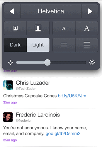 Twitterrific 5 settings 2