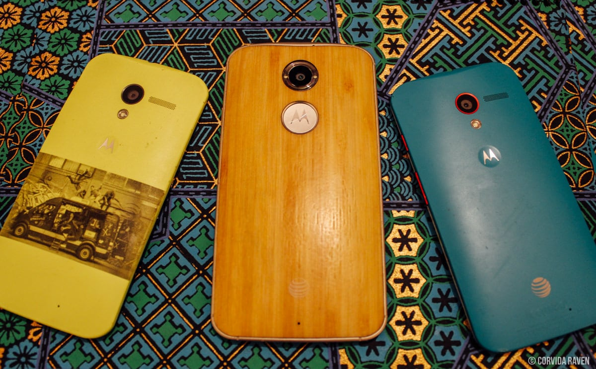 Moto X Back (1st Gen & 2nd Gen)