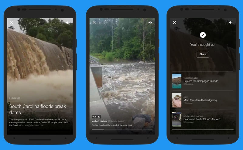 Twitter Moment South Carolina Flooding