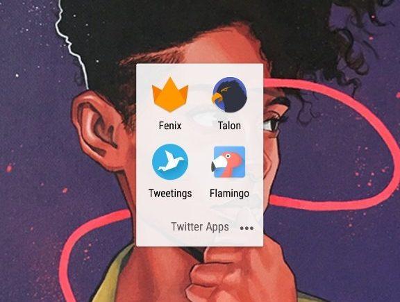 Twitter Apps Folder