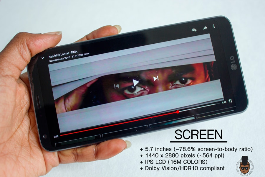 LG G6 - Screen