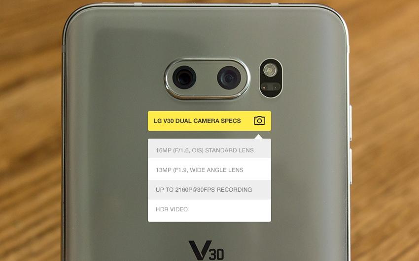 V30 Cameras