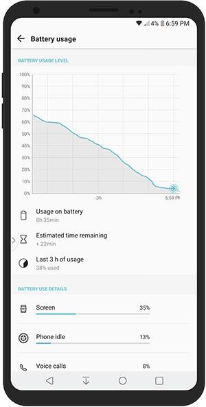 V30 Battery Life