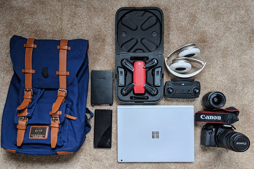 What's In My Bag - Gaston Luga Clässy