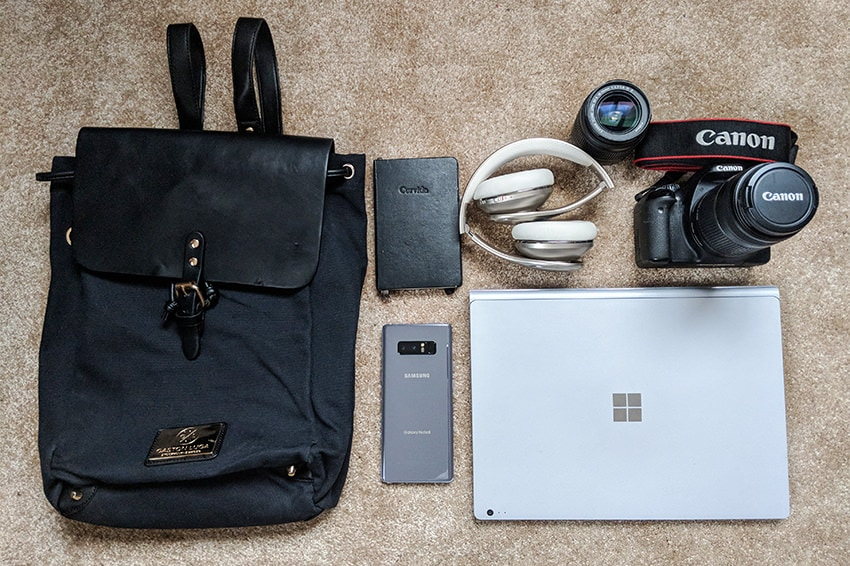 What's In My Bag - Gaston Luga Clässic