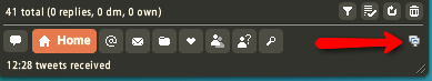 twhirl usage icon