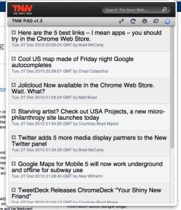 The Next Web Chrome Extension