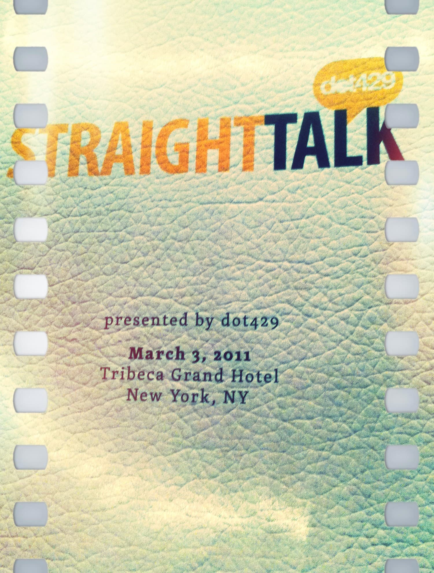Straight Talk NYC