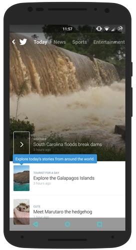 Twitter Moment of South Carolina Floods