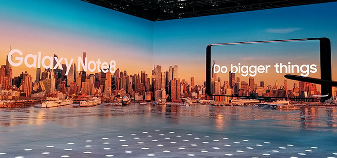 Note 8 Unpacked Event, NYC, NY