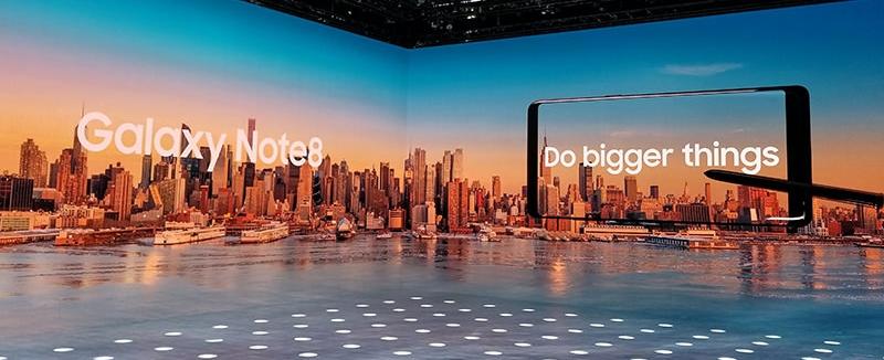Note 8 Unpacked Event, NYC, NY