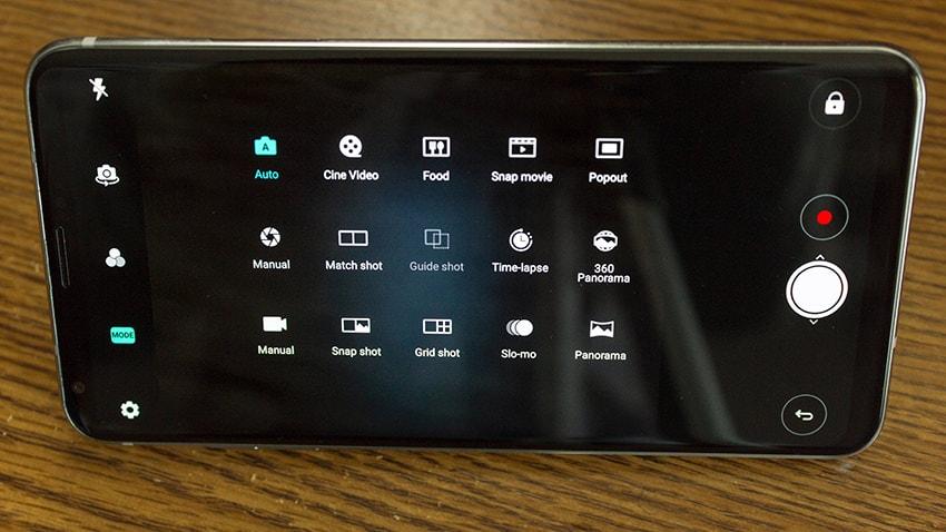 V30 Camera Modes