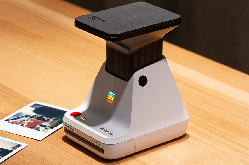 Polaroid Lab Side & Powered