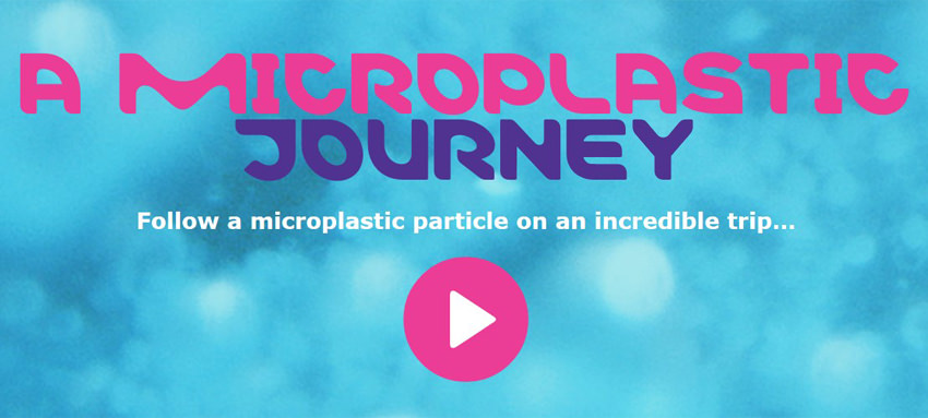 A microplastic journey