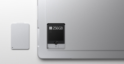 SD Card slot on Microsoft Surface Pro 7