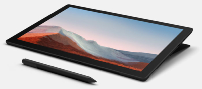 Surface Pro 7 With Surface Pen